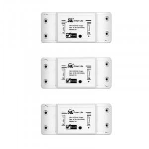 Комплект из 3 Умных WiFi реле Ya-SSB1 10A