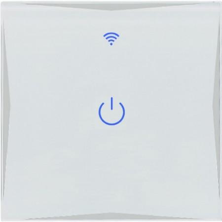 Умный Wi-Fi выключатель, сенсорный одноканальный Ya-T1
