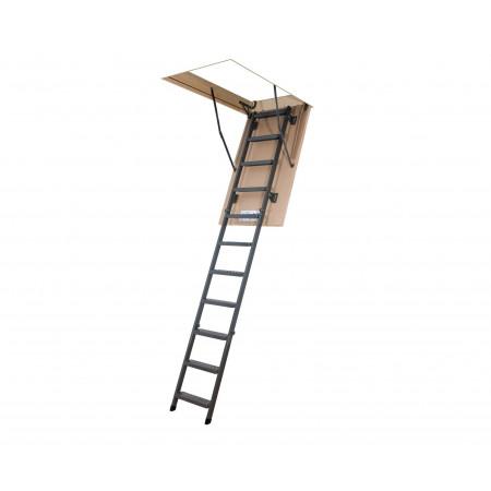 Раскладная металлическая чердачная лестница LMS 60х120х280