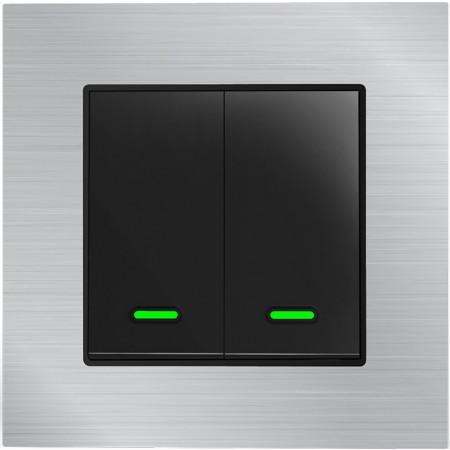 Умный Wi-Fi выключатель, двухканальный Ya-TB12