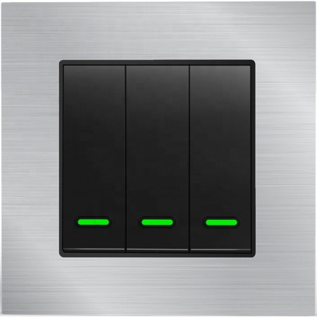 Умный Wi-Fi выключатель, трехканальный Ya-TB13