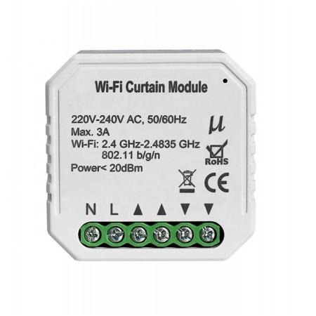 Умный Wi-Fi микромодуль управления шторами Ya-C01