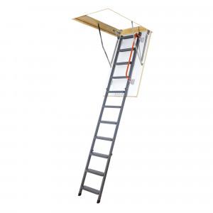 Раскладная металлическая чердачная лестница LMК 60х120х280