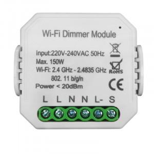 Умный Wi-Fi микромодуль диммер одноканальный Ya-D01-TRIAC