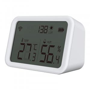 Умный ZigBee Датчик температуры, влажности и степени освещенности Я Смарт Ya-ZB6