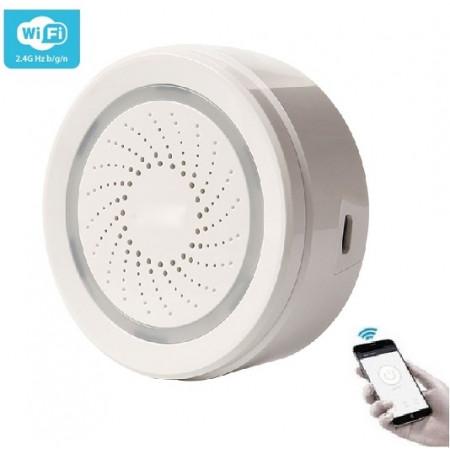 Умная Wi-Fi сирена с датчиками температуры и влажности Ya-SAB02