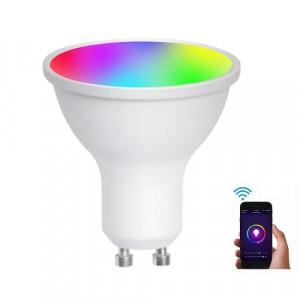 Умная Wi-Fi светодиодная лампа ЯСмарт Ya-GU10