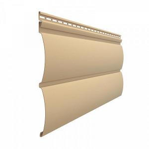 Виниловый сайдинг Docke Premium D4,7Т (Блокхаус) Карамель