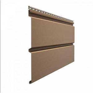 Виниловый сайдинг Docke Premium D6S (брус) Капучино