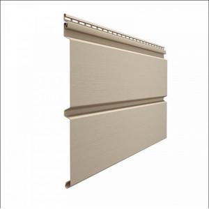 Виниловый сайдинг Docke Premium D6S (брус) Крем-брюле