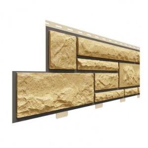 Фасадная панель Доломит Премиум Имбирь