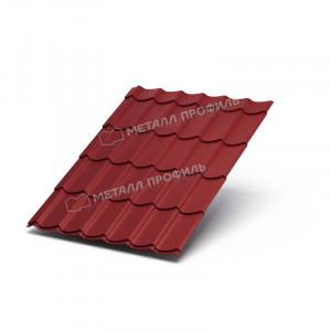 Металлочерепица МП Ламонтерра ХL VikingMP 0.45 RAL 3011 Коричнево-красный
